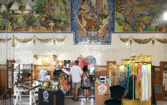 boutique pañuelos de seda pintada a mano